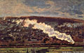 Claude Monet (1840-1926) - The Train (1872)