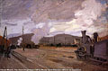 Claude Monet (1840-1926) - The Gare d'Argenteuil (1872)