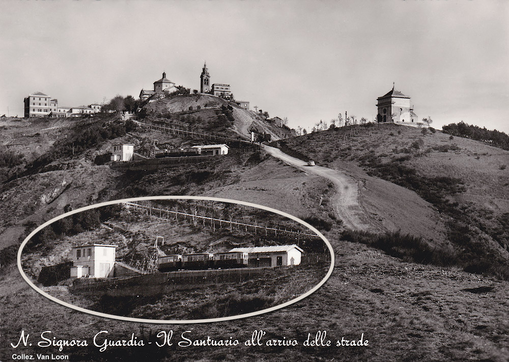 Grand Tour 1950! - Madonna della Guardia.