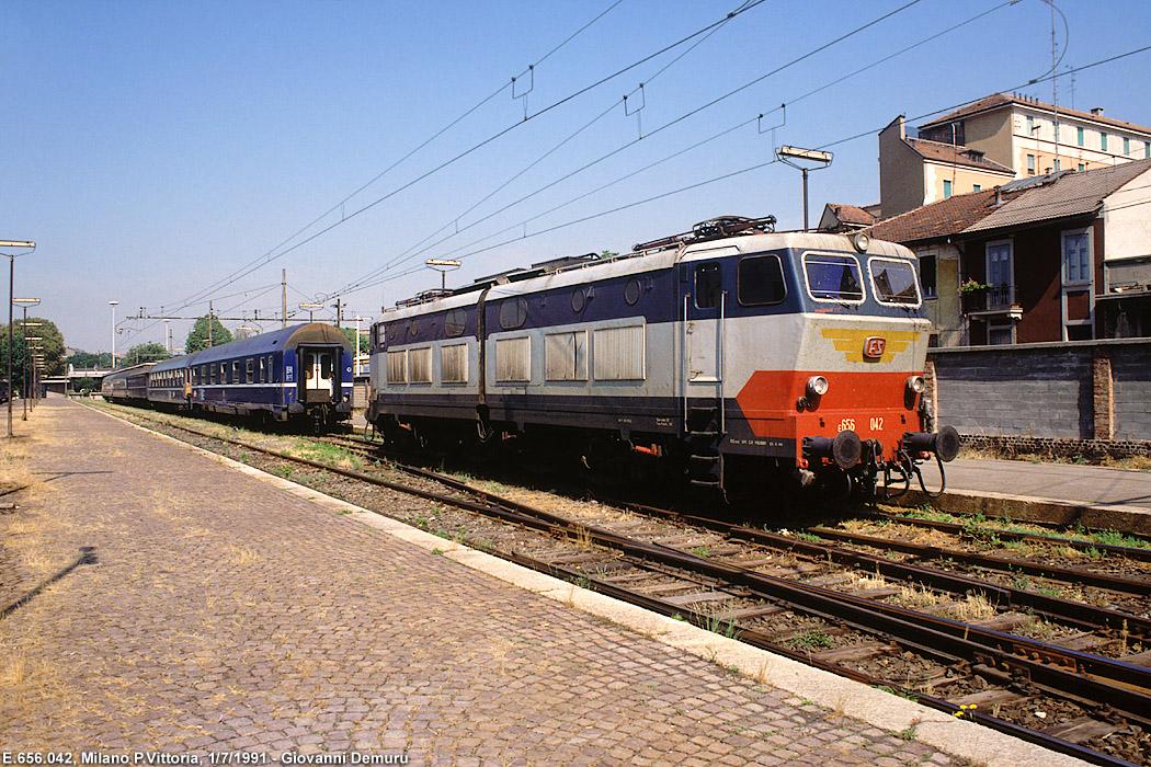Trazione elettrica intorno a milano 16 stagniweb - Stazione porta vittoria milano ...