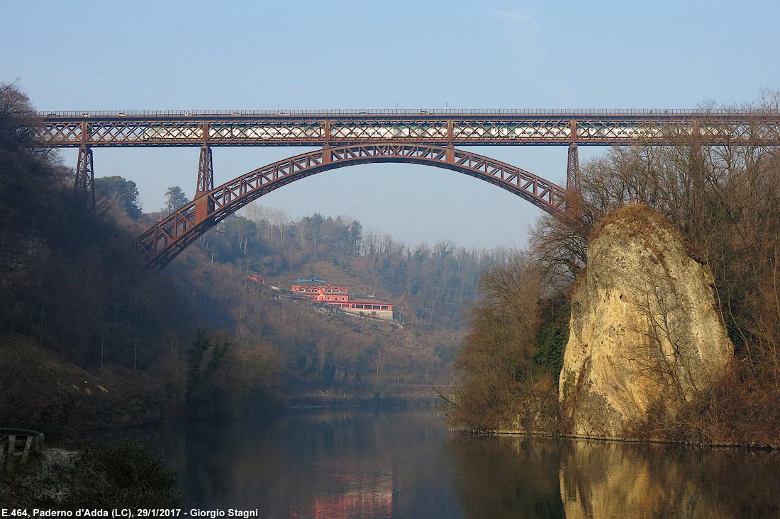 Il ponte di paderno d 39 adda e altri ponti in ferro stagniweb for Piani di ponte ottagonale