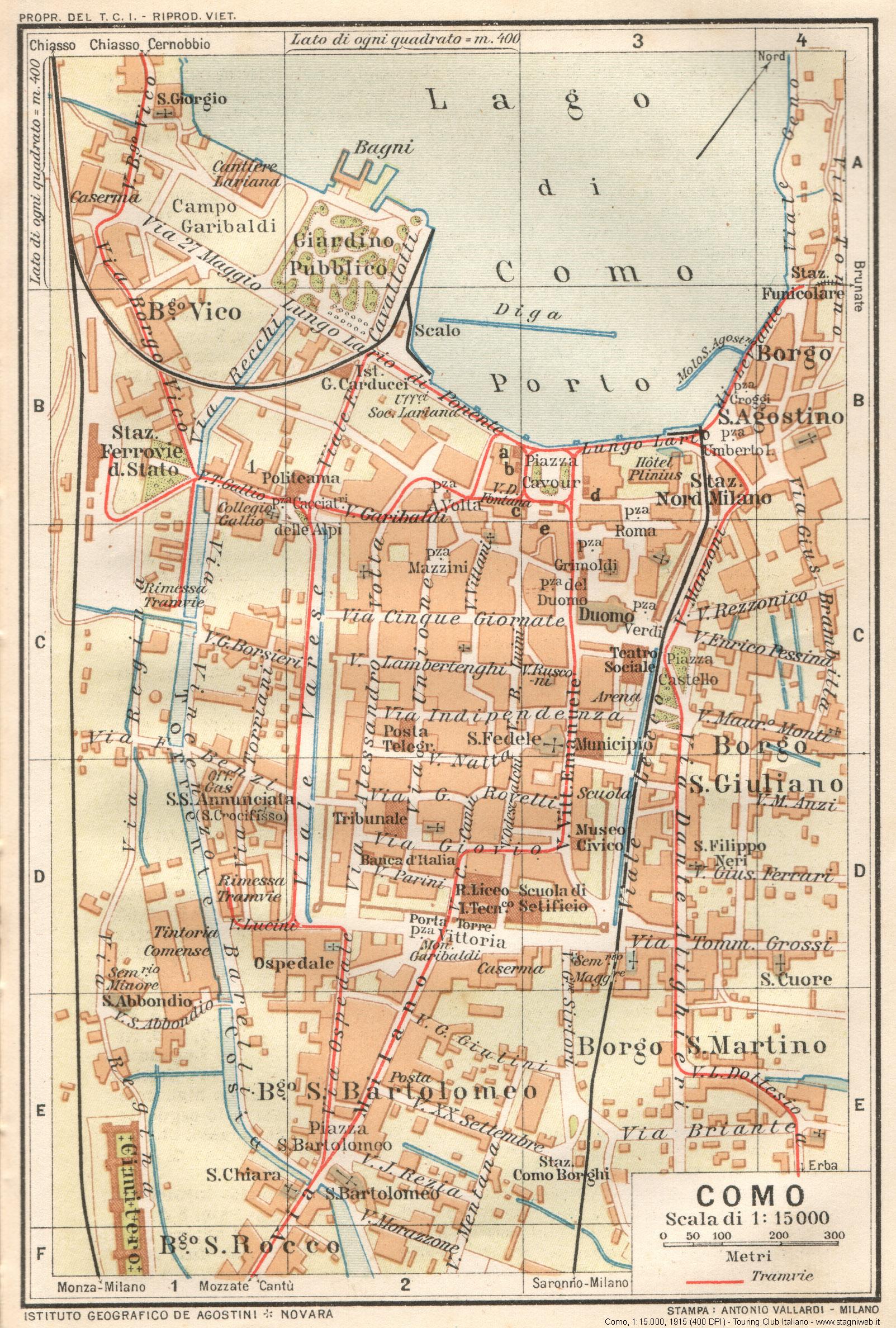 Cartina D Italia 1915.Mappe Storiche Citta Italiane E Altro Stagniweb