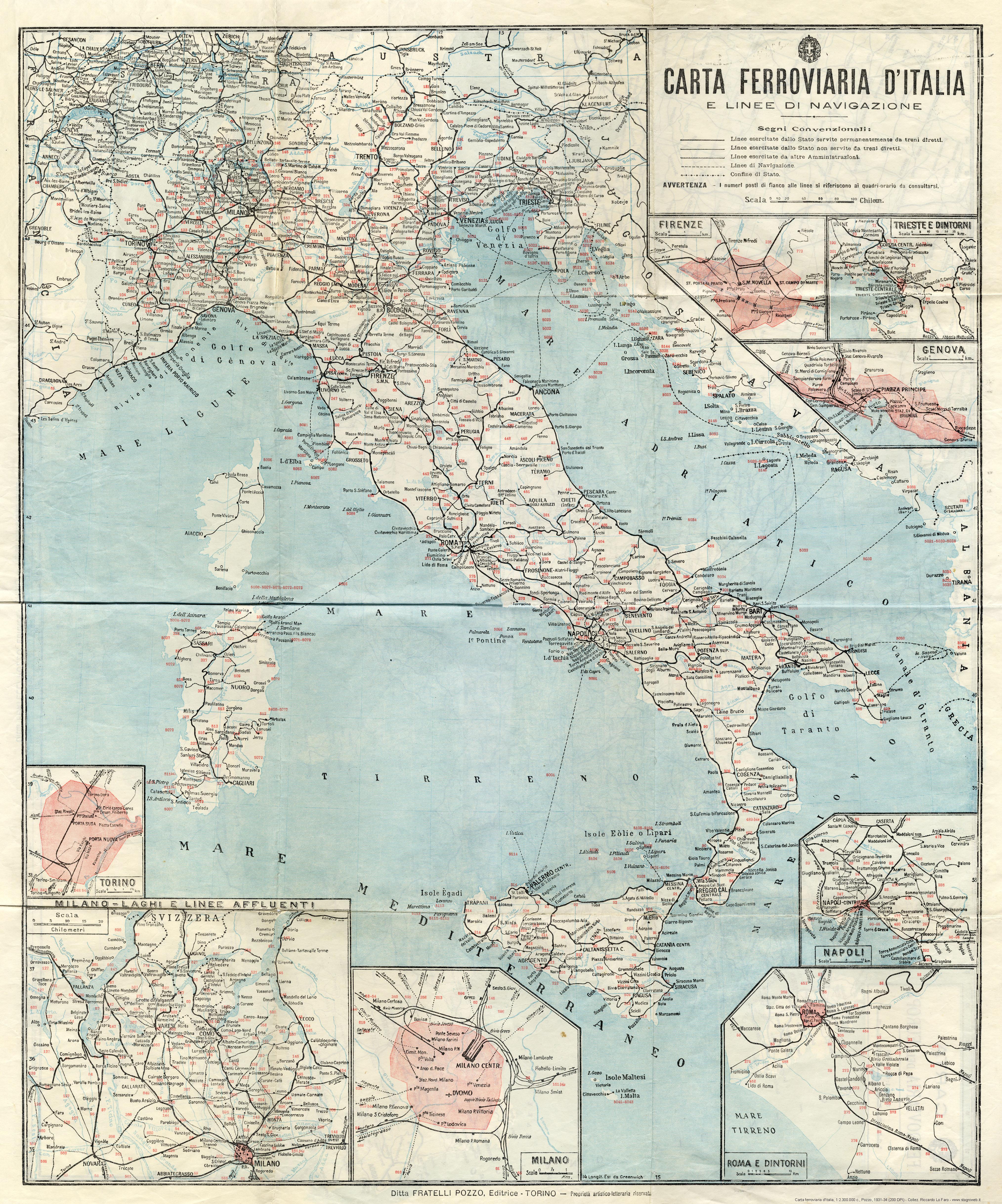 Cartina Mondo Alta Risoluzione.Altre Carte Ferroviarie Stagniweb