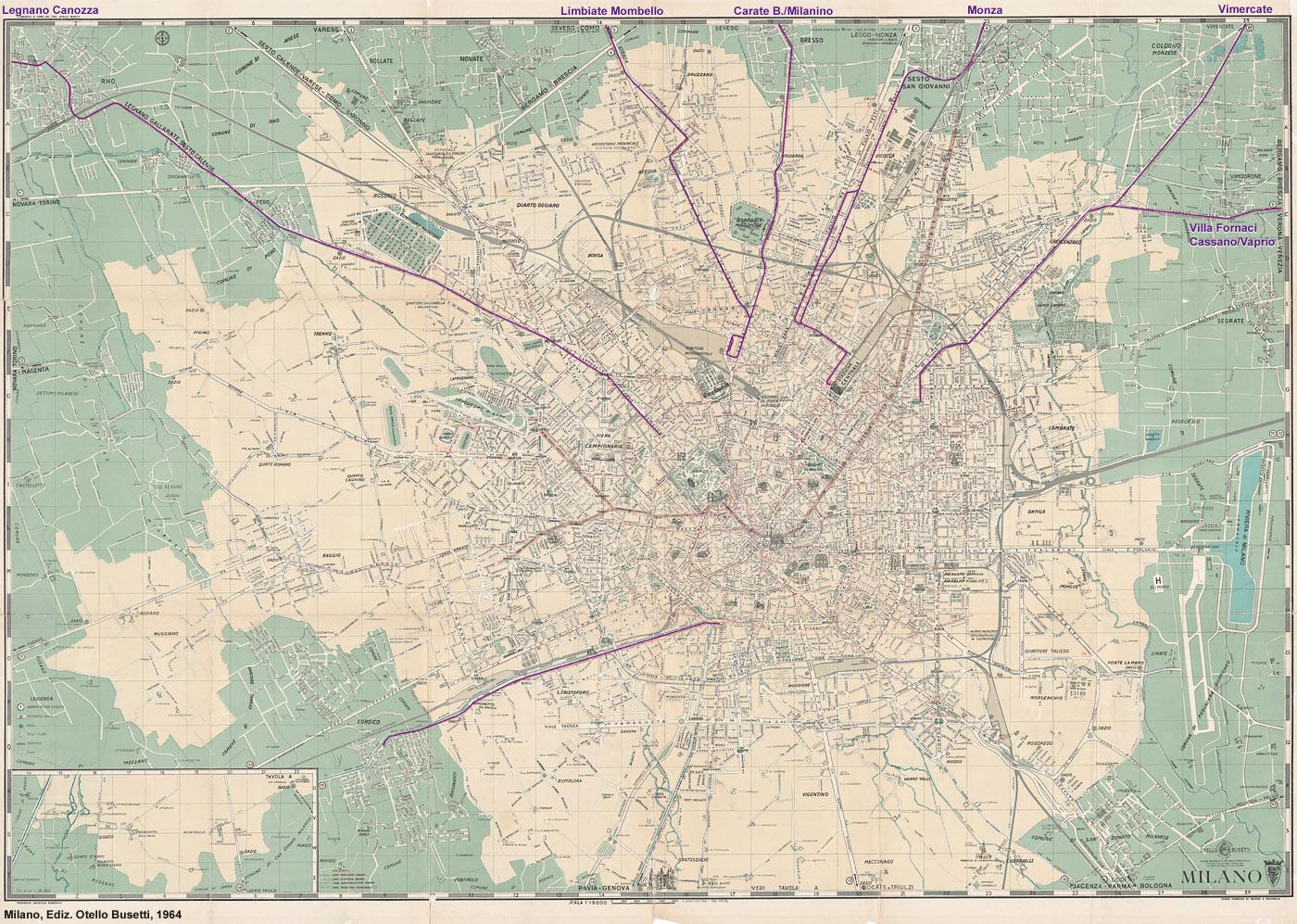 Milano 1964 l 39 anno della metropolitana stagniweb - Assi vimercate piastrelle ...