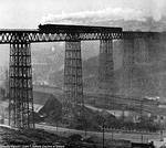 Decline of Steam, by Colin T. Gifford - Crumlin Viaduct.