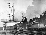 Decline of Steam, by Colin T. Gifford - Meeting at King Edward Bridge Junction.
