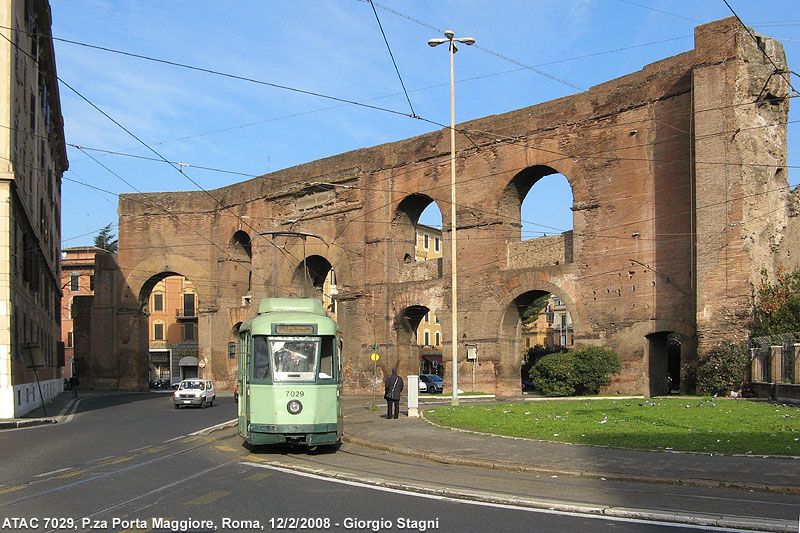 Tram a roma stagniweb - Rome porta maggiore ...