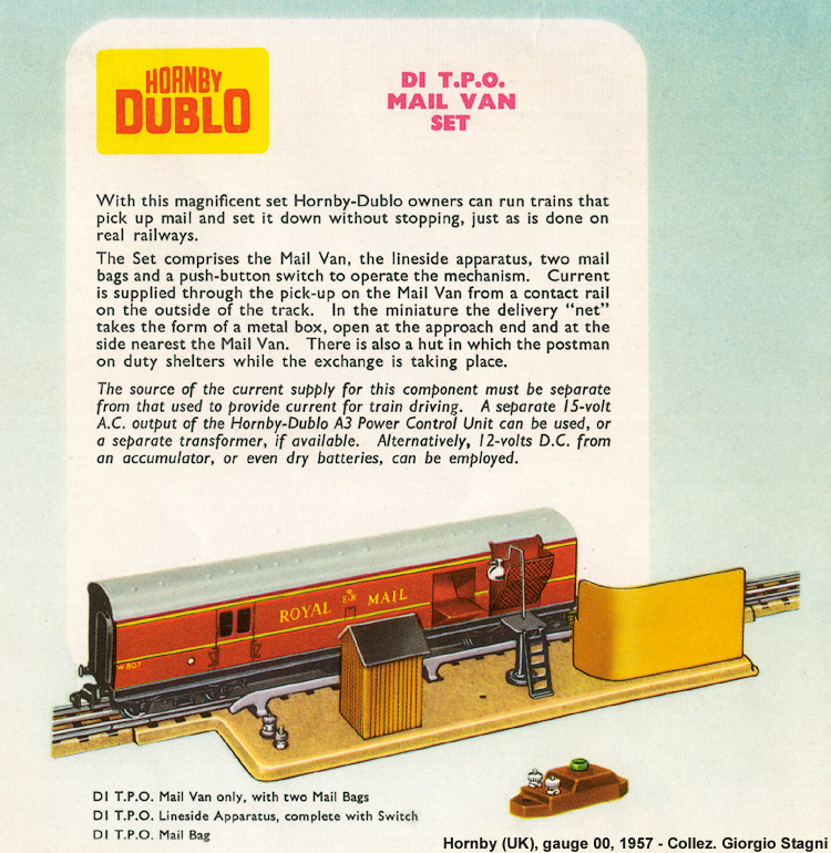 Electric Trains, gauge 00 (16.5 mm) - Carro postale.
