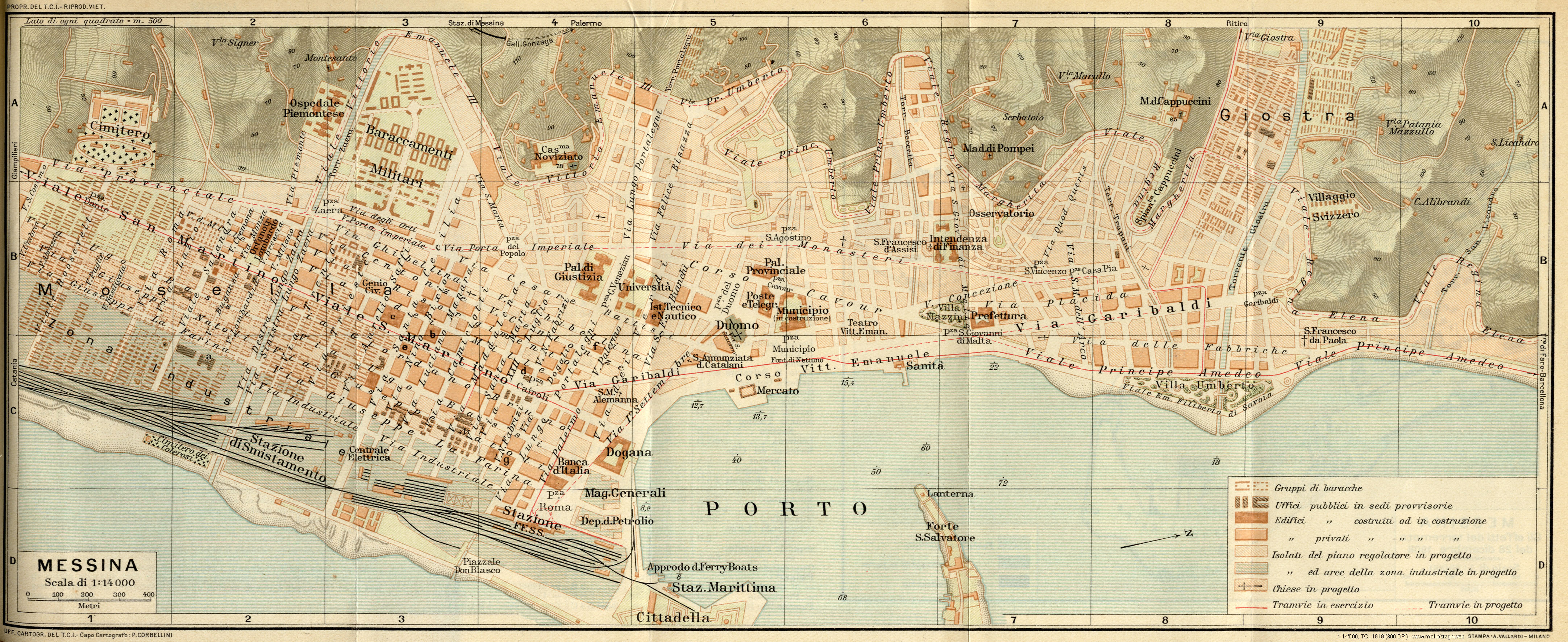 Cartina Italia Vasto