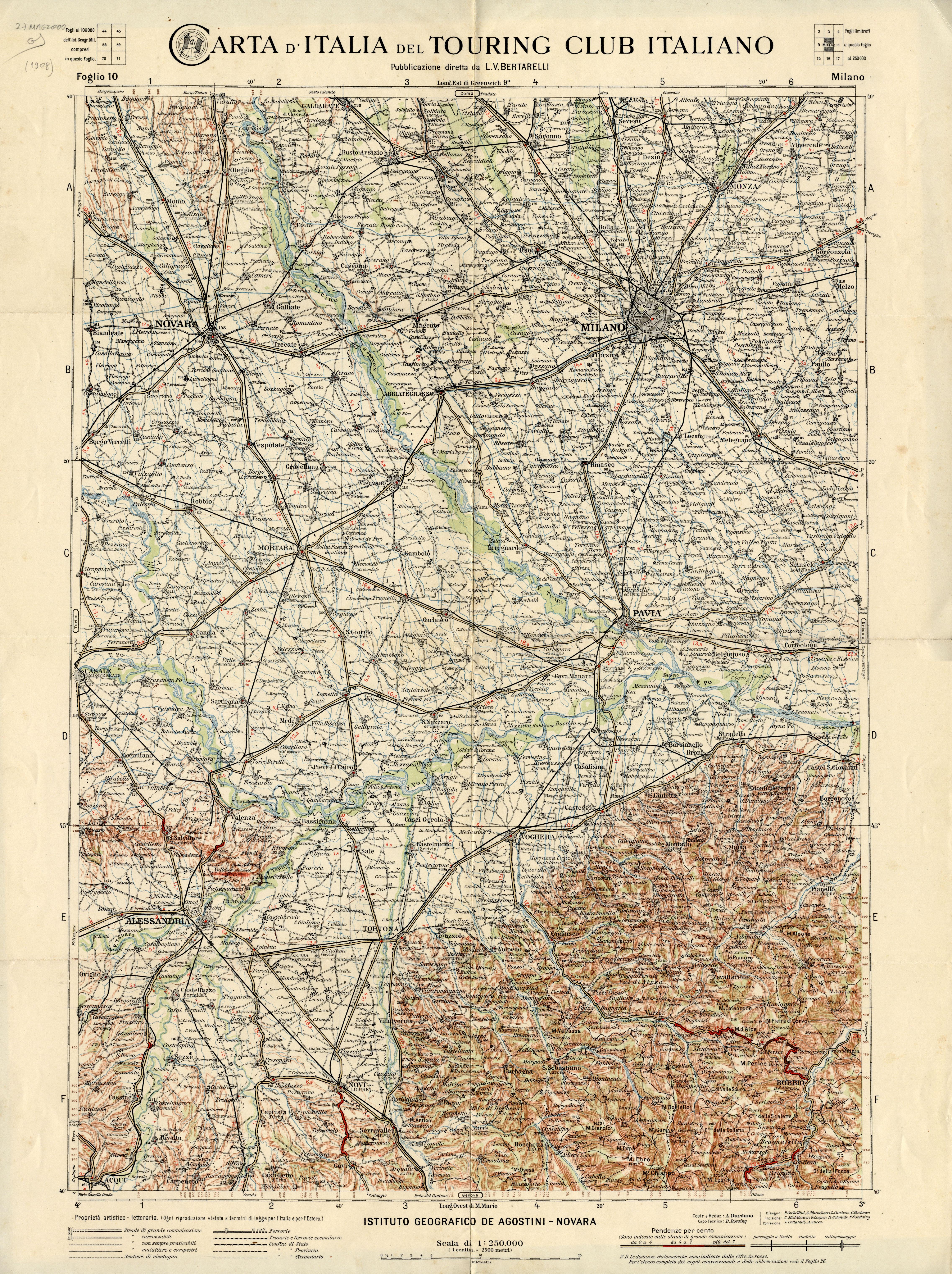 Cartina D Italia 1940.Mappe Storiche