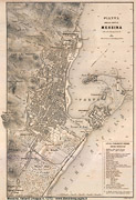 Mappe Vallardi 1870 - Messina (grande)